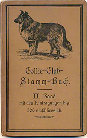 Collie Club Stamm Buch cover